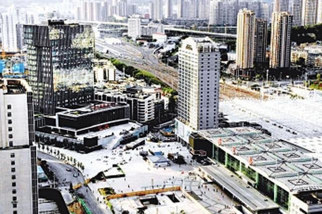 福州火车站南北广场相连通 换乘更便捷