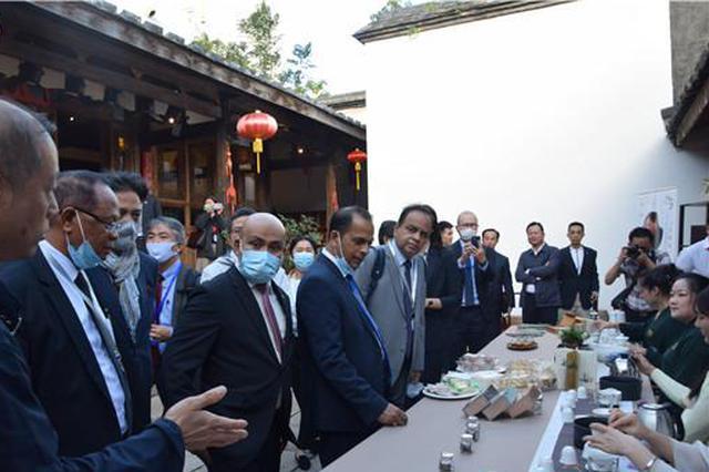 十余国驻华使节福州品茗 点赞福建茶