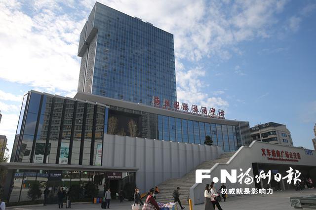 """福州火车站南广场新通道开放 高铁地铁换乘""""零距离"""""""