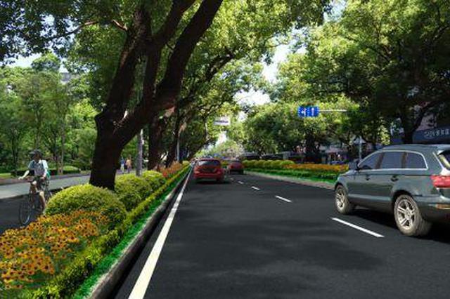 福州华林路沿线景观及绿化提升项目基本完成