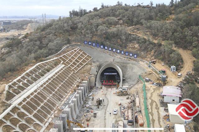 福厦高铁鹰高山隧道顺利贯通 打通项目全线架梁通道