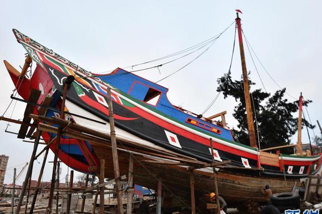 福建泉州:古法复原明代福船