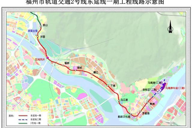 福州两条地铁线年内动工建设