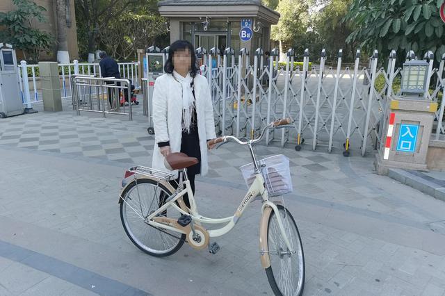 """漳州:单车""""以旧换新"""" 女子顺手牵羊被拘"""