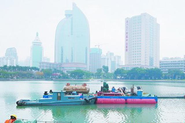 15年来最大规模 厦门筼筜湖月底开始全面清淤
