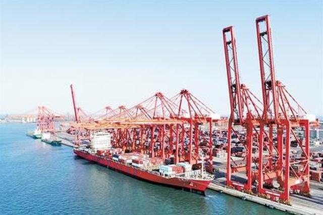 """泉州港一季度""""開門紅"""" 貨物吞吐量比增近三成"""
