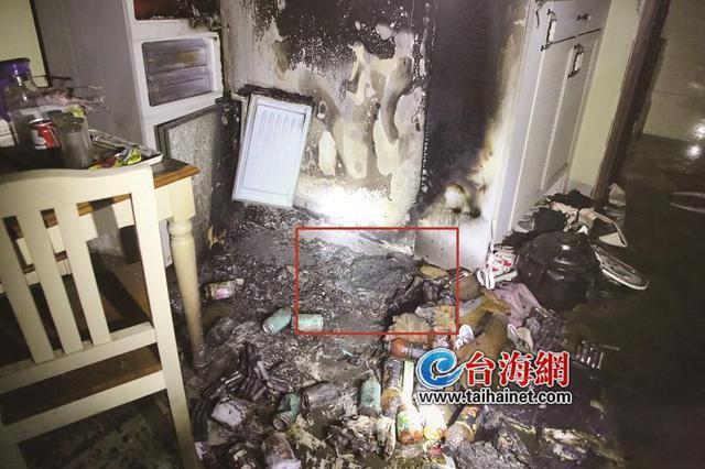 漳州芗城区:电动车电池爆炸 家都烧毁了