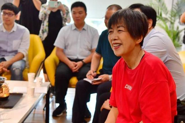 台湾知名媒体人黄智贤与福州台湾青年座谈:珍惜在大陆发展的