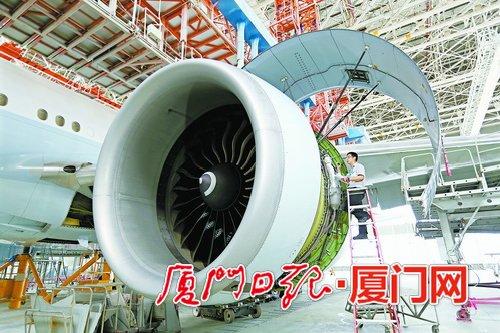 机身维修服务场景。
