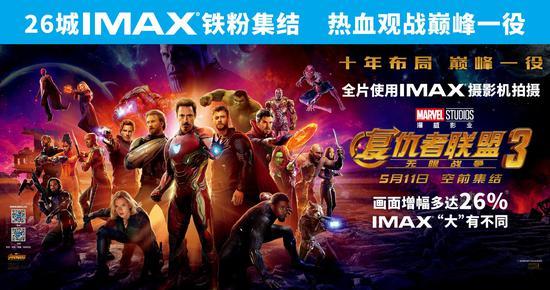 26城IMAX铁粉集结 热血观战巅峰一役