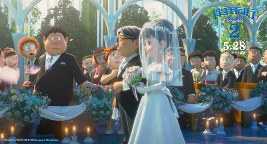 电影《哆啦A梦:伴我同行2》定档 大雄静香是否顺利完婚令人期