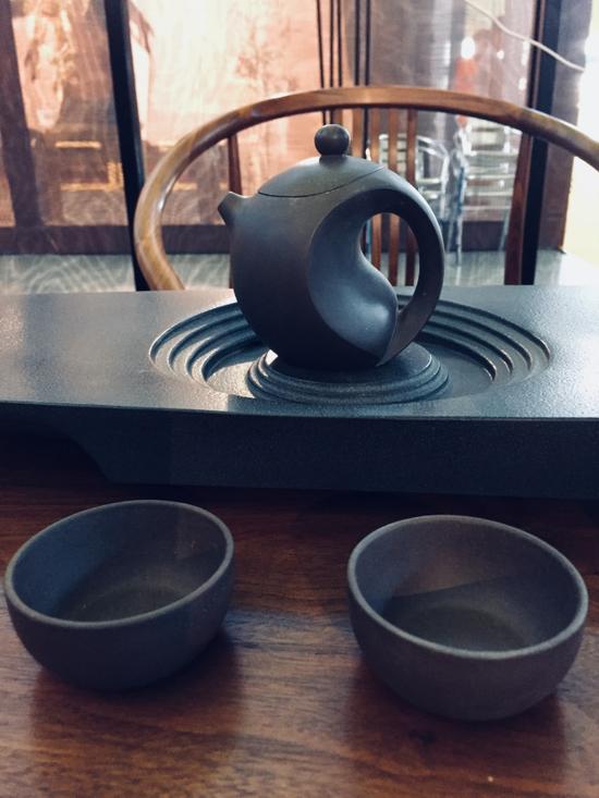 楠氏物语非遗系列紫砂太极壶