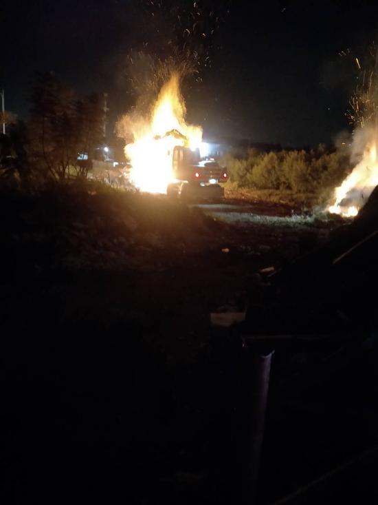 漳州:居民垦荒引火情 社区110及时控险情