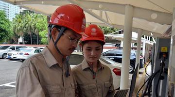 福州今年将再建19个电动汽车充电站
