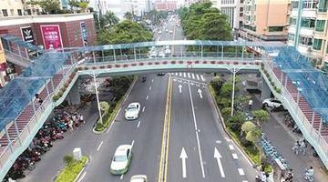 泉州宝洲街万达人行天桥将开通