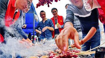 罗源县碧里乡举办下廪羊美食盛宴
