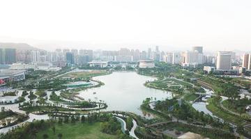 """龙岩龙津湖公园项目:城市新""""会客厅"""""""