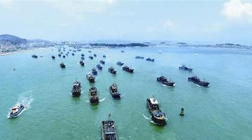 开渔啦!漳州上千艘渔船同时扬帆