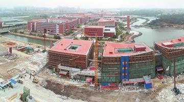 福大晋江科教园区项目9月竣工