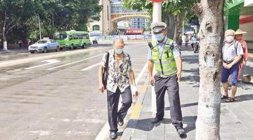 厦门:行人不走斑马线小心被罚款