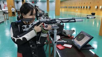 花季少女打破尘封22年福州射击纪录