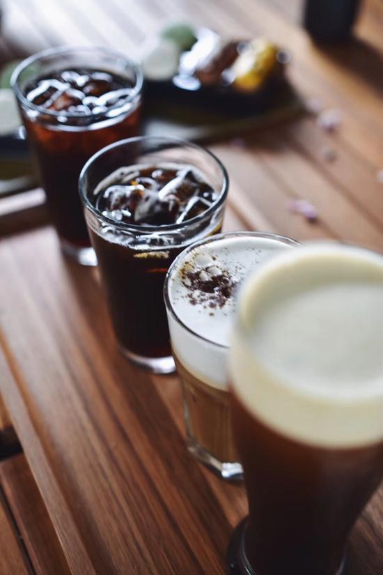 冷奶沫相遇冰咖啡 轻盈绵密新口感
