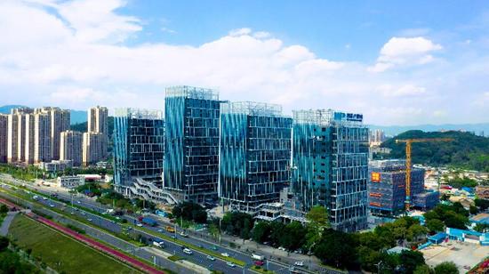 金山工业园区橘园项目A全景图新起点·新未来