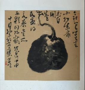 蔬果 写生小品(纵:42cm横:42cm)