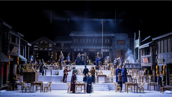 川话版《茶馆》即将登鹭 汇聚老中青三代演员演绎经典