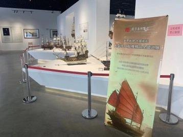 大型手工船模精品全国巡展来到厦门澳头超旷美术馆