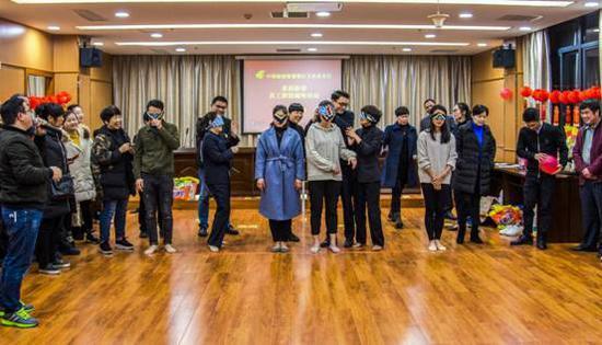 邮储银行大田县支行组织开展迎新春员工趣味游园活动