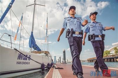 厦门警方加强沿海巡逻防控。