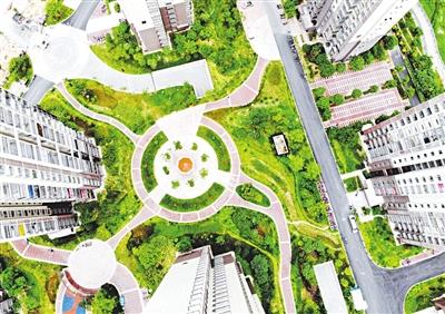 福州晋安安置房融入海绵城市理念 紧挨公园宜居环保