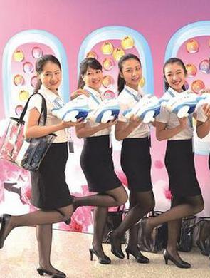 百位台湾萌妹脱颖而出加盟厦航