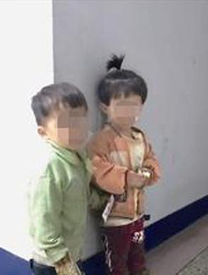 """2岁幼童结伴""""游 """"国道 吓坏巡逻民警"""