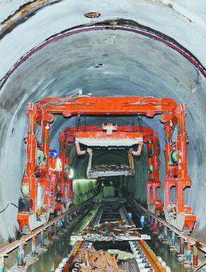 厦门地铁2号线已攻克海底隧道
