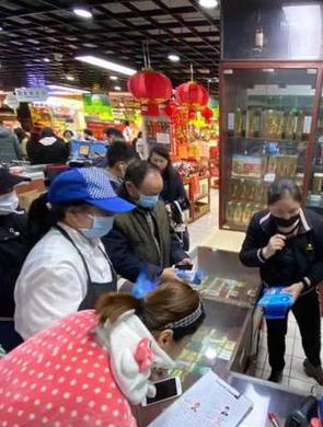今起100万个口罩在66家夏商民兴超市开售