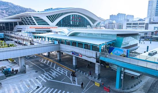 刚刚!厦门BRT火车站新南站厅启用!直通动车、地铁、公交!