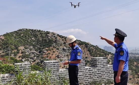 漳州开发区启用无人机 助力城市管理