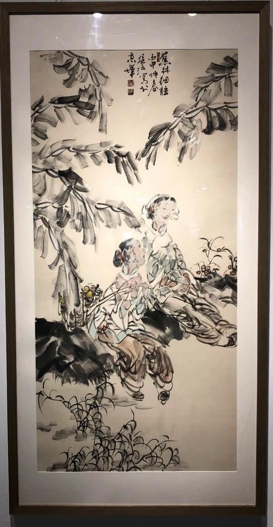 """""""笔歌盛世""""中国人物画家孙振江作品展在福建泉州开幕"""