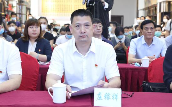 中共安溪县委副书记庄稼祥