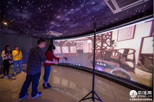 福建首个国学VR体验馆在岚启用 让你过足瞬间百变瘾