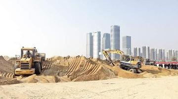厦门岛内最后一个砂场被清退