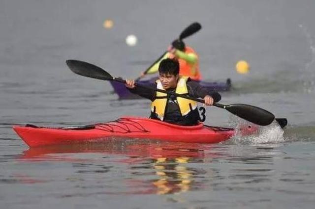 """中国大学生桨板竞速赛 厦大、集大""""瓜分""""6块金牌"""