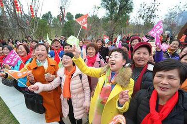 福州12个生态公园集中开园 漫步生态里行走幸福中