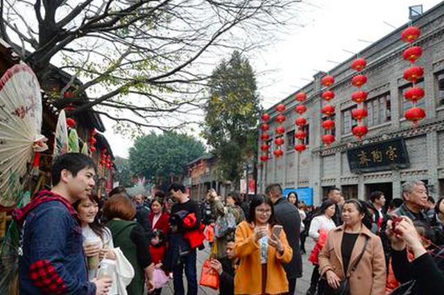 福州新春旅游月如火如荼 三坊七巷接待人次创新高