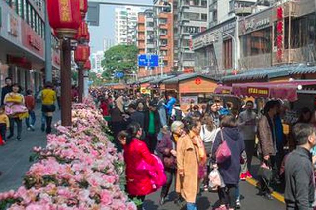 福州达明美食街成旅游新去处 3天日客流逾13万人次