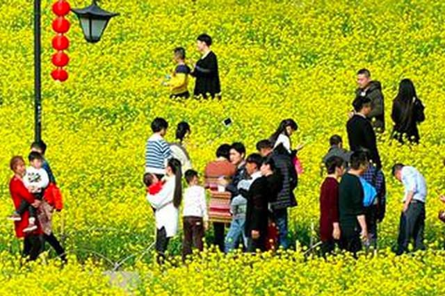福州市区五大公园人气旺盛 游客昨超20万人次