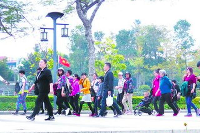 黄金周厦门迎客逾261万人次 位列热门旅游城市第三位