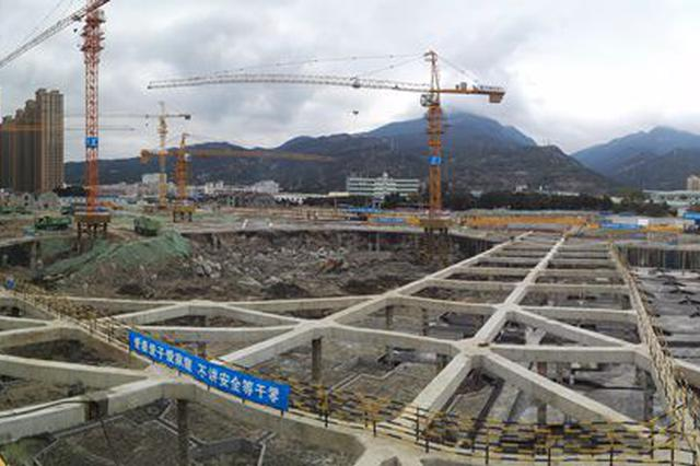 中国(福州)物联网产业孵化中心一期4万平方米地下空间现雏形